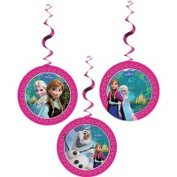 Frozen Hanging Decorations 3CT.