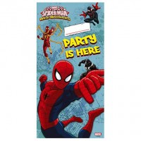Personalized Door Banner - Ultimate Spider Man Web Warriors