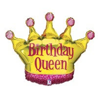 "Birthday Queen 36"" Foil Balloon"