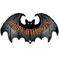 "Spooky Bat 42"" Foil Balloon"