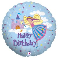 "Fairy Princess 18"" Foil Balloon"