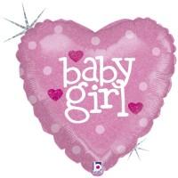 """Baby Heart Girl 18"""" Single Pack"""