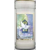 Pillar Candle - Holy Spirit - Pack of 4