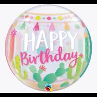 """Lama Themed Happy Birthday 22"""" Single Bubble"""