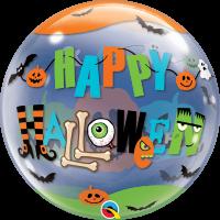 "Happy Halloween 22"" Single Bubble"
