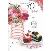 Age 90 - Female - Pack Of 12