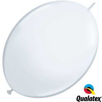 """White 6"""" Standard Quick Link (50ct)"""