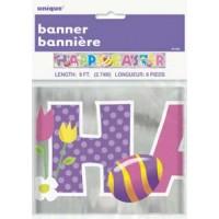 Easter Foil Banner 9ft.