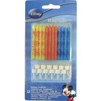 Birthday Candles - Playful Mickey