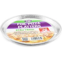 Foil Pizza Platters 310x18mm 2pc