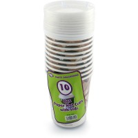 Paper Cups With Lids 8oz 10pc