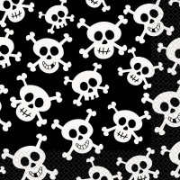 Skulls Luncheon Napkins 16CT