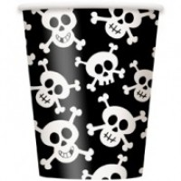 Skulls 9oz Cups 8CT