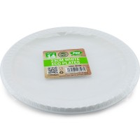 Bio Degradable PLA Eco Plates 23cm 14pc