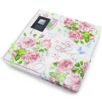 Pink Rose Butterfly Napkins 3ply 12pc