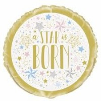"A Star Is Born 18"" Foil Balloon"