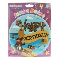 Pirate Party Badge (15cm)