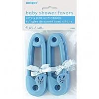 12PK BLUE RIBBON BABY PINS
