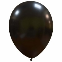 "Superior 12"" Metallic Black Latex 100ct"
