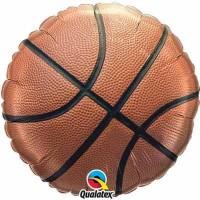 "Basketball - 18"" Foil Balloon"