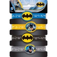 Batman Stretchy Bracelets 4ct