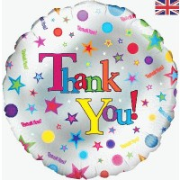 "Thank You - 18"" foil balloon"