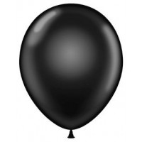 "12"" Black Latex Balloons 100ct"