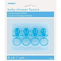 2 inch blue crystal pacifiers