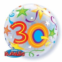 "Brilliant Stars 22"" Single Bubble  - 30"