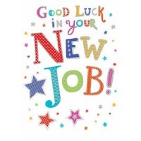 New Job - Good Luck - Pack Of 12