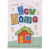 New Home - Good Luck - Pack Of 12
