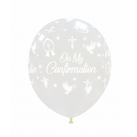 "Crozier 12"" 'On My Confirmation' Clear Latex 50ct"