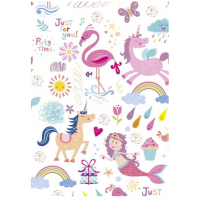Magical World Sheet Wrap H:69 x W49 cm