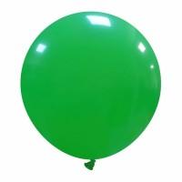 "24"" Medium Green Latex Balloon 1ct"