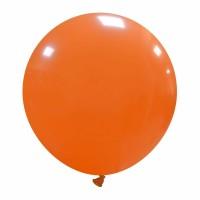 "24"" Orange Latex Balloon 1ct"