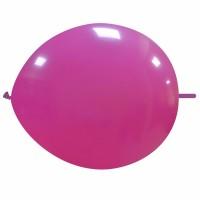 """Superior 12"""" Standard  Fuchsia Linking Balloon 50Ct"""