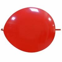 """Superior 12"""" Dark Red Linking Balloon 50Ct"""