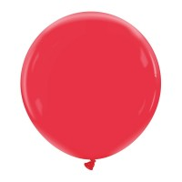 "Cherry Red Superior Pro 24"" Latex Balloon 1Ct"