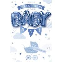 Christening Day - Baby Boy - Pack Of 12