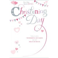 Christening Day - On Your Baby Girl's - Pack Of 12