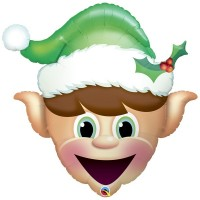 "Christmas Elf 35"" Supershape"
