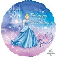 "Cinderella Happy Birthday 18"" Foil"