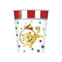 Circus Carnival 9oz cups 8ct