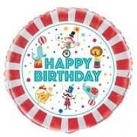 "Circus Carnival 18"" foil balloon"