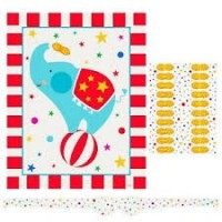 Circus Carnival Party Game for 20 1ct