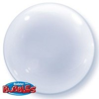 Clear Deco Bubble 24""