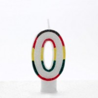 Age 0 Multi Colour Candle Neutral (Pack of 6)