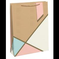 Pastel Kraft XL Bags 6ct