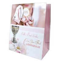 Communion Gift Bag Girl Pack of 6
