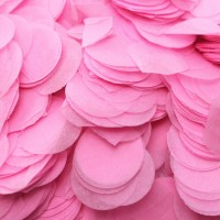 Baby Pink Paper Dots Confetti (100g)